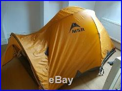 MSR Fury2 4 Season Expedition mountain High Performance Proffesional Tent Used