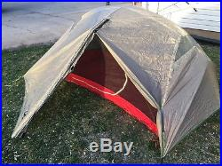 MSR Hubba Hubba Tent with footprint and Big Agnes Rain Fly