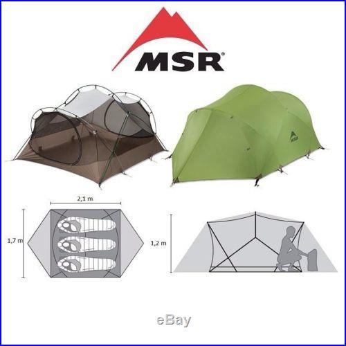 MSR Mutha Hubba 3 Person Tent