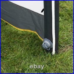 Maypole 3 Panel Inflatable Air Windbreak Blow-up Camping Caravan With Free Pump