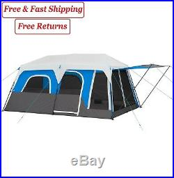 Member's Mark 10-Person Instant Cabin Tent with LED Lights outdoor party