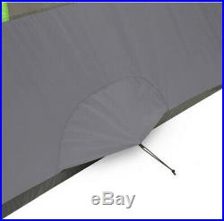 Modified Dome 12 x 8 Tunnel Tent 6-Persons Outdoor Family Camping Hiking Tent