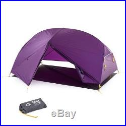 NEW 1 2 Man Person Tent Ultra Lightweight Camping Hiking Outdoor 1.6 kg 3 Season