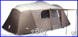 New Coleman Riverview 10 Family Tent Outdoor Camping Hiking Person Space Cabin