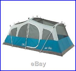 NEW Coleman Echo Lake Outdoor Camping 8 Person Fast Pitch Cabin Tent 16' x 10