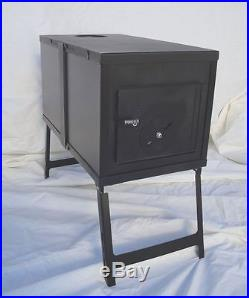 NEW! Collapsible Wood Stove for Outfitter Canvas Wall Tent Camping