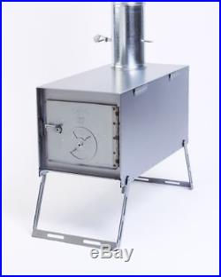 NEW! Lightweight Packer Wood Stove for Outfitter Canvas Wall Tent Camping