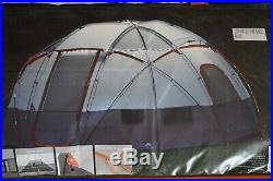 NEW Ozark Trail 12-Person Basecamp Tent with Built-In LED Lights 16'x16'x7'8''H