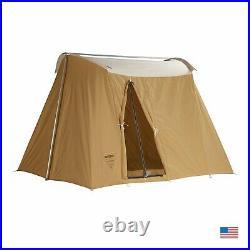 NEW Rare Springbar Canvas Tent VAGABOND 8' X 10' Vintage AAA Kirkhams USA Made