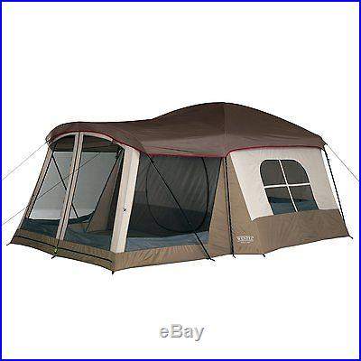NEW & SEALED! Wenzel Klondike 16 X 11 Feet 8 Person Family Cabin Dome Tent