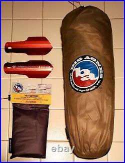 NEW Ultralight Bundle! Big Agnes Fly Creek HV UL1 Tent / Footprint / 2 Trowels