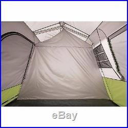 NEWv Ozark Trail 9 Person 2 Room Instant Cabin Tent with Screen Room