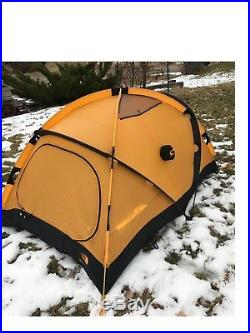 NORTH FACE Mountain 25 4 Season 2 Person Tent withFootprint, Excellent Condition +