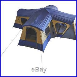 NO TAX Ozark Trail Base Camp 14-Person Cabin Tent 4 rooms 20' x 20' Quick Set up
