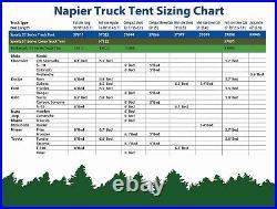 Napier Sportz Truck Tent for Compact Regular Bed 57044 Outdoor Camping