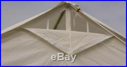 New 13 x 13 Canvas Wall Tent & Angle Kit by Elk Mountain Tents