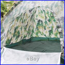New 4 Season Military Hiking Beach Waterproof 4 Person Instant Camping Tent