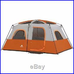 New 8 Person 2 Room Family Instant Tent Hiking Camping Outdoor Waterproof