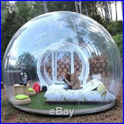 New Bubble Tent Inflatable Outdoor Tunnel Inflatable Stargazing Camping Air Pump