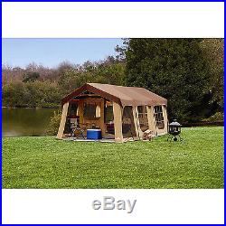 New Large Tent 20'x10' River Camping 10 Person Front Porch Fishing Family Cabin
