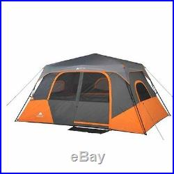 New Outdoor 8 Person Family Waterproof Instant Cabin Tent Airbed Camping Hiking
