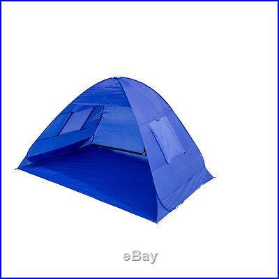 New Portable Beach Tent Shelter Sun Shade Outdoor Pop Up Canopy UPF 50 Gazebo