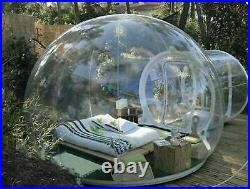 New Stargaze Outdoor Single Tunnel Inflatable Bubble Camping Tent With Blower