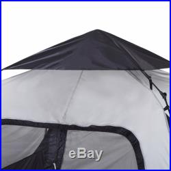 North Gear Camping Pop up 5 Person Instant Cabin Tent