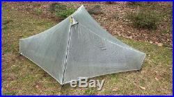Notch LI Tarptent. Ultra Light, Dyneema, Cuben Fiber, solo tent. Hyperlite tent