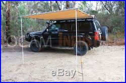 OCAM Awning 2.5M x 2.5M Side Pullout Tent Camper Trailer 4X4 4WD 250cm x 250cm