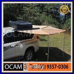 OCAM Wing Camping Awning Round 2.5m x 2.5m 280g Cross Cotton Thread 4x4 Camping