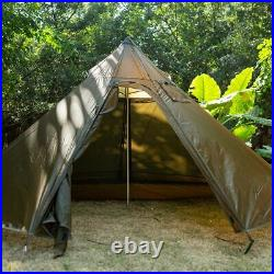 ONETIGRIS Hunting Camping BUSCHRAFT Iron Wall Chimney Tipi HOT TENT Coyote