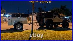 Offroad Camping Trailer With Rooftop Tent