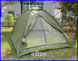 Outdoor Camping 1 person 4 season folding tent Camouflage Hiking US Seller