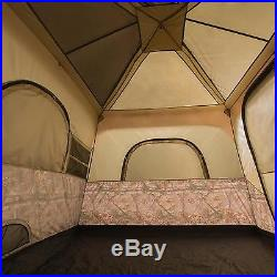 Outdoor Camping Hunting Hiking 8 Person Sleep Instant Cabin Window Private Tent