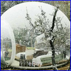 Outdoor Epidemic prevention Single Tunnel Inflatable Luxury Dome Bubble Tent US