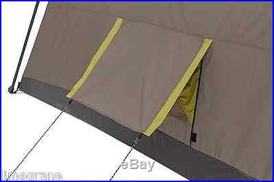 Outdoor Family Tent Camping Extra Large 10 Person 3 Room Survival Gear Shelter