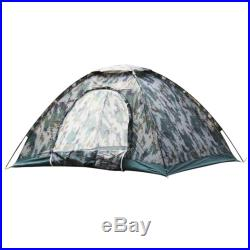 Outdoor Portable Family 3-4 Person Camping Tent Waterproof Backpacking Hiking