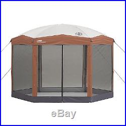 Outdoor Screened Canopy Tent 12'x10' Instant Shelter Patio Camping House Gazebo