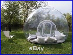 Outdoor Single Tunnel Inflatable Bubble Tent Camping Family Stargazing 4 Person