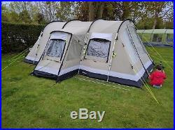 Outwell Canvas Montana 6 Tent, Footprint And Carpet