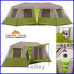 43e19d7e55 Ozark 8 Person 2 Room Instant Double Villa Cabin Unique Tent Outdoor Camping  NEW