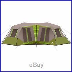Ozark 8 Person 2 Room Instant Double Villa Cabin Unique Tent Outdoor Camping NEW
