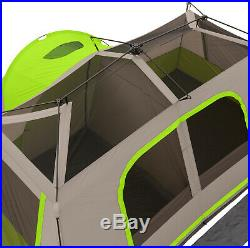 Ozark Tr 11-Person Family Camping Large Tent Outdoor Instant Pop up Cabin 3 Room
