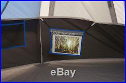 Ozark Trail 10-Person Freestanding Tunnel Sleeping Tent Camping Outdoor Sports