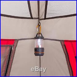 Ozark Trail 10 Person Instant Outdoor Camping Double Villa Family Cabin Tent