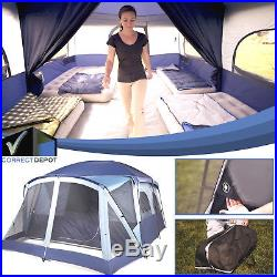 Ozark Trail 12 Person 2 Room Cabin Tent Screen Porch Outdoor