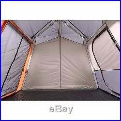 Ozark Trail 12 Person 3 Room Camping Instant Cabin Tent 3 Queen Sized Airbed New