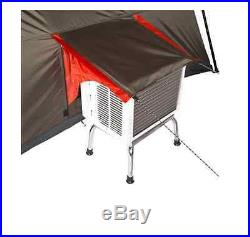 Ozark Trail 12 Person 3 Room Family L-Shaped Instant Cabin Tent Camping Outdoor