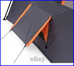 Ozark Trail 12 Person 3 Room Instant Cabin Shelter Outdoor Family Camping Tent